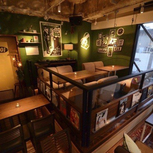 802カフェ渋谷
