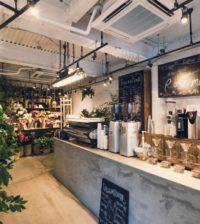 花屋 カフェ