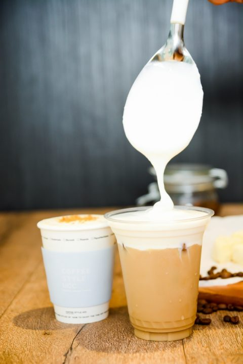 生クリーム チーズコーヒー