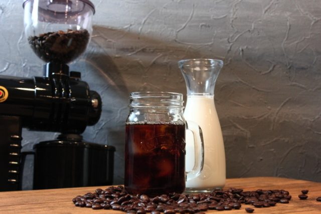 コーヒーとミルク