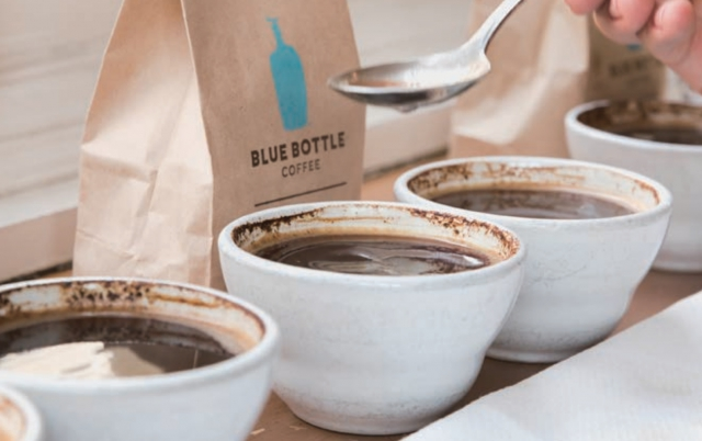 ブルーボトルコーヒー池袋 カッピング