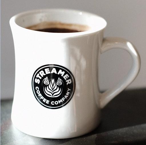 ストリーマー珈琲マグカップ
